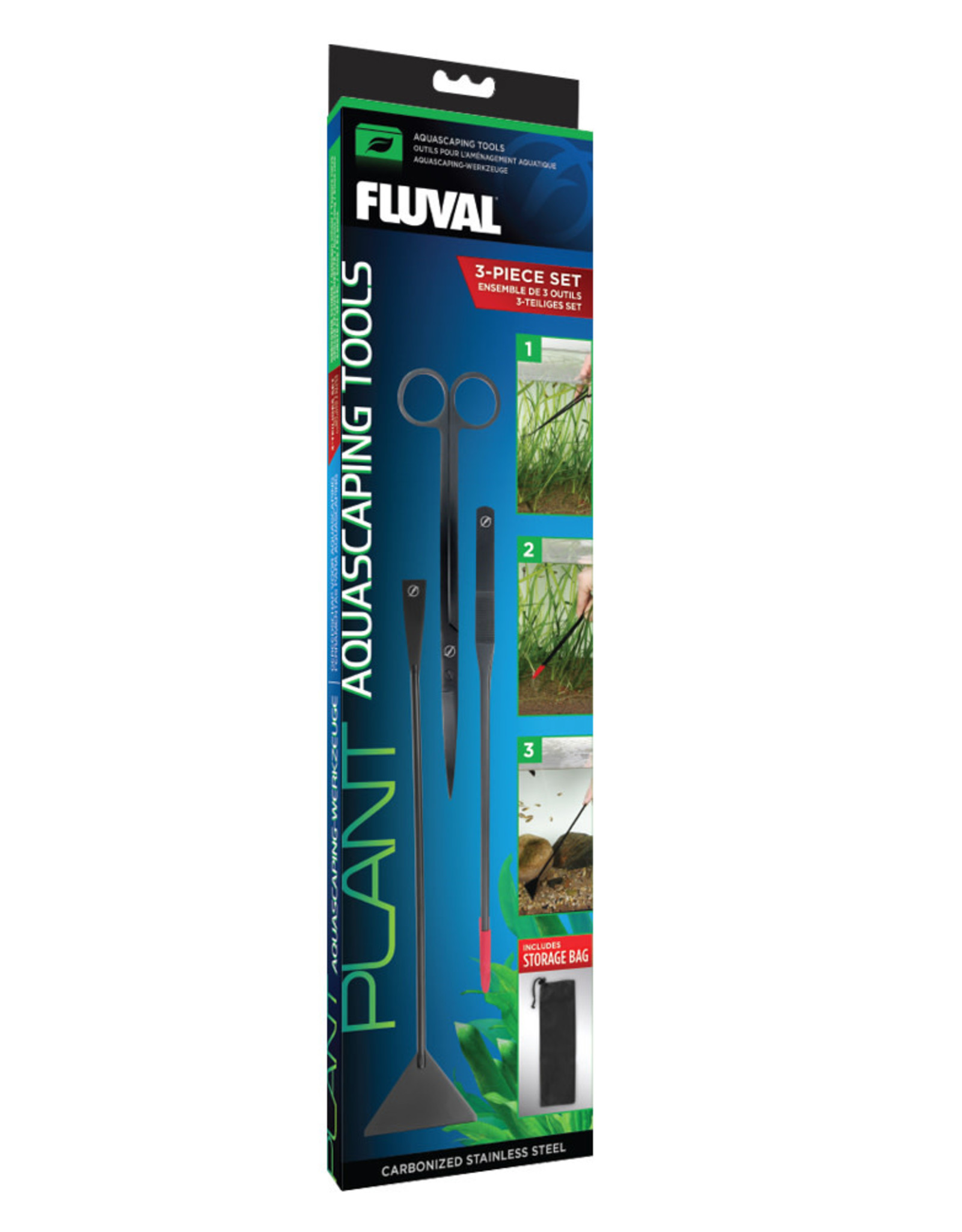 Fluval Fluval Aquascaping Tools - 3 pack