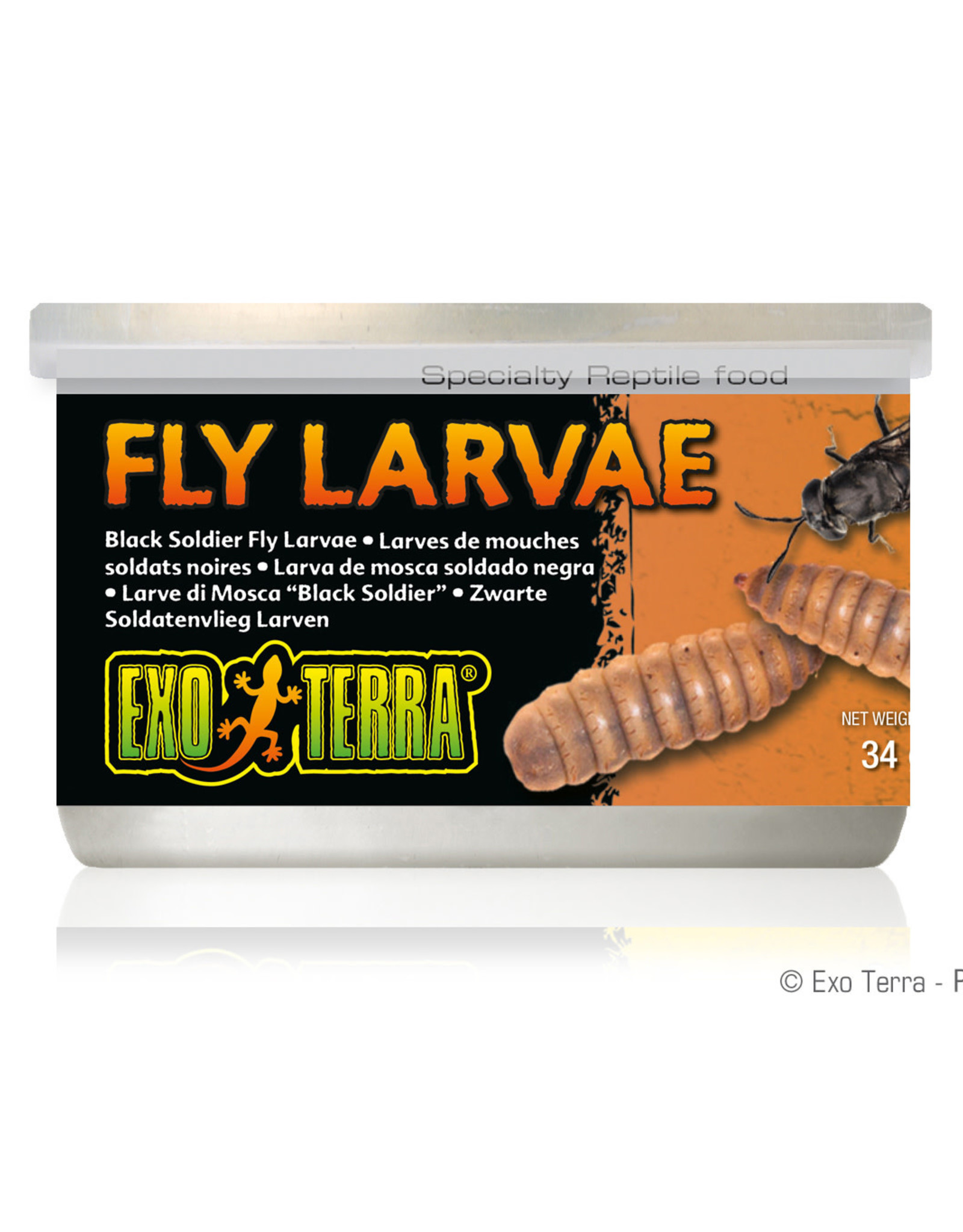 EXO-TERRA Exo Terra Canned BSF Larvae - 34 g (1.2 oz)