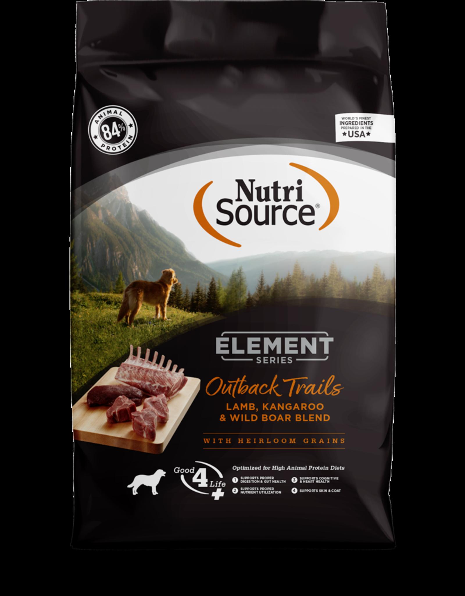 NUTRISOURCE Element Outback Trail Blend Dog