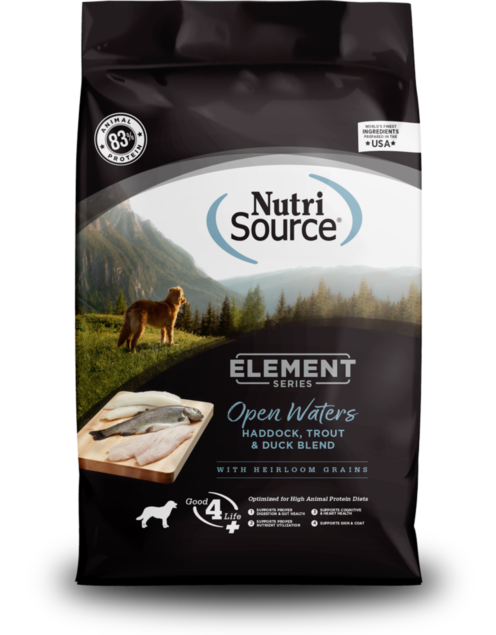 NUTRISOURCE Element Open Waters Blend Dog