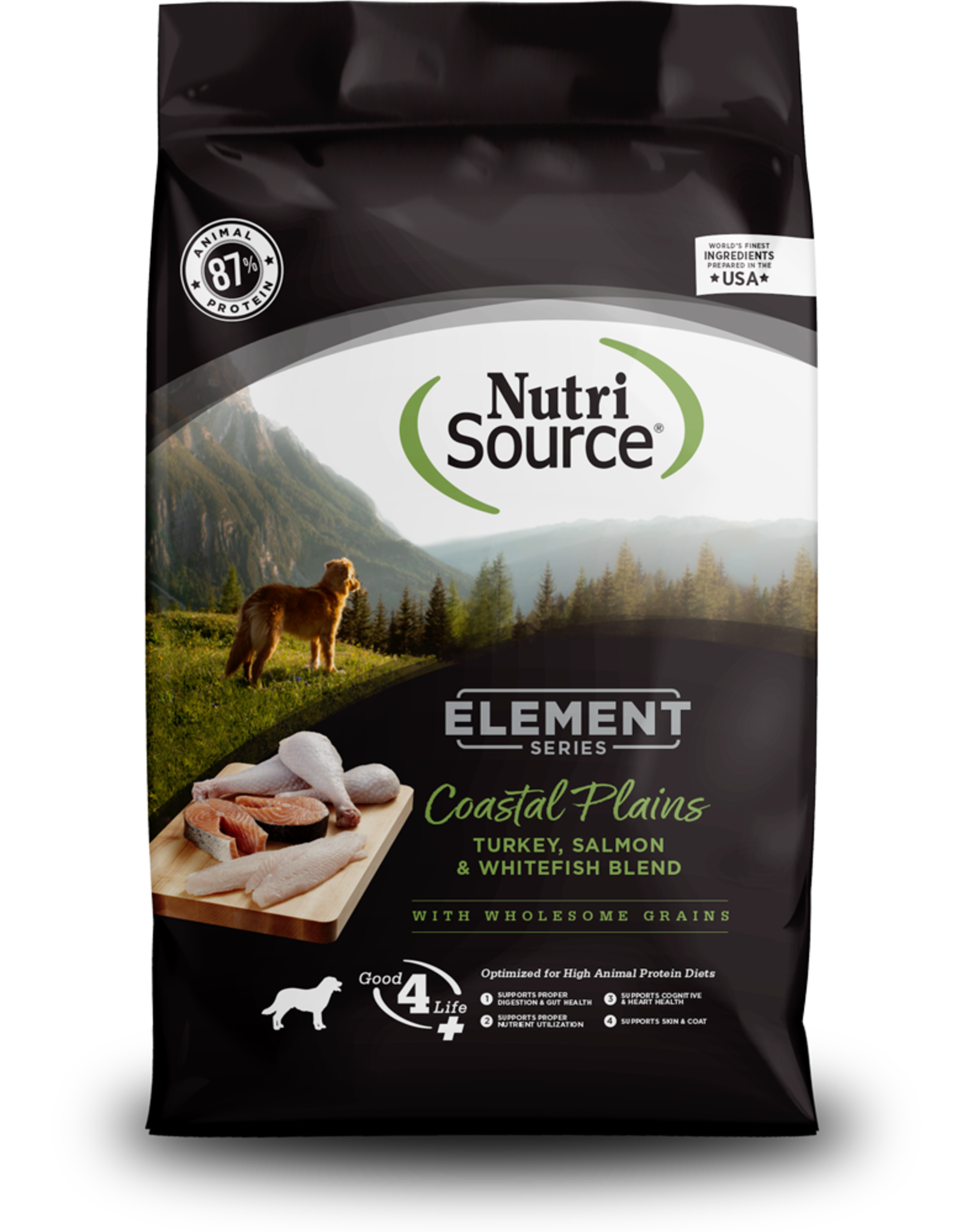 NUTRISOURCE Element Costal Plains Blend Dog