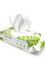 """Earth Rated Compostable Pet Wipes Unscented 8x8"""" 100PK"""