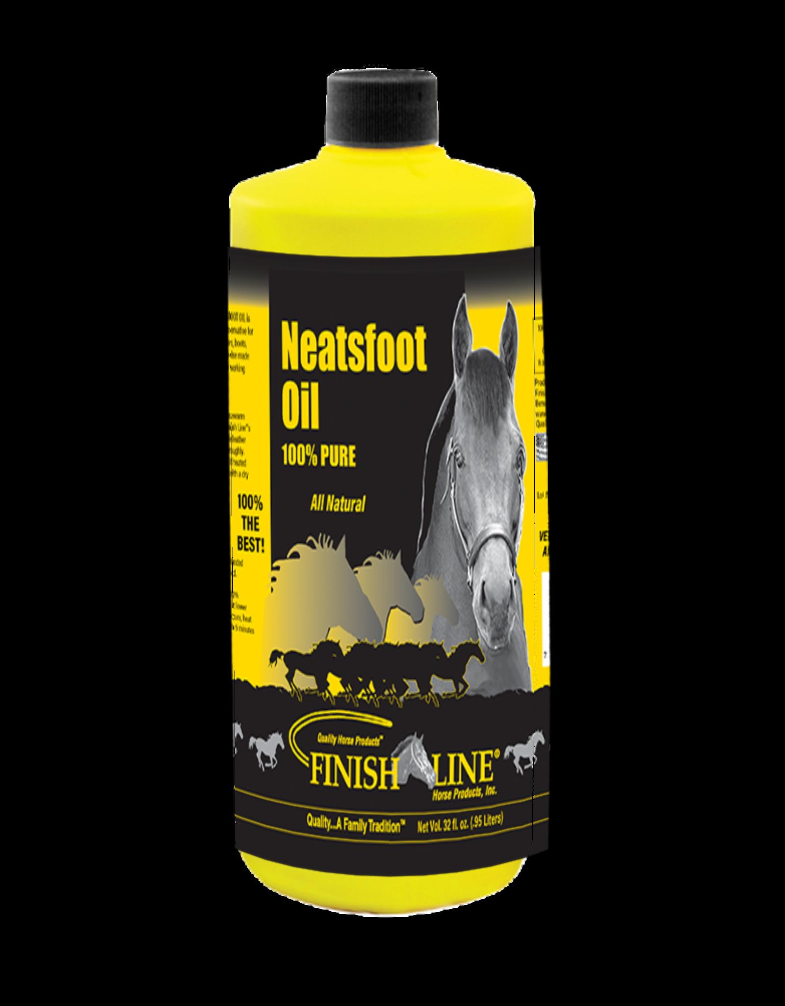 FINISHLINE Finish Line Neatsfoot Oil Pure 32oz