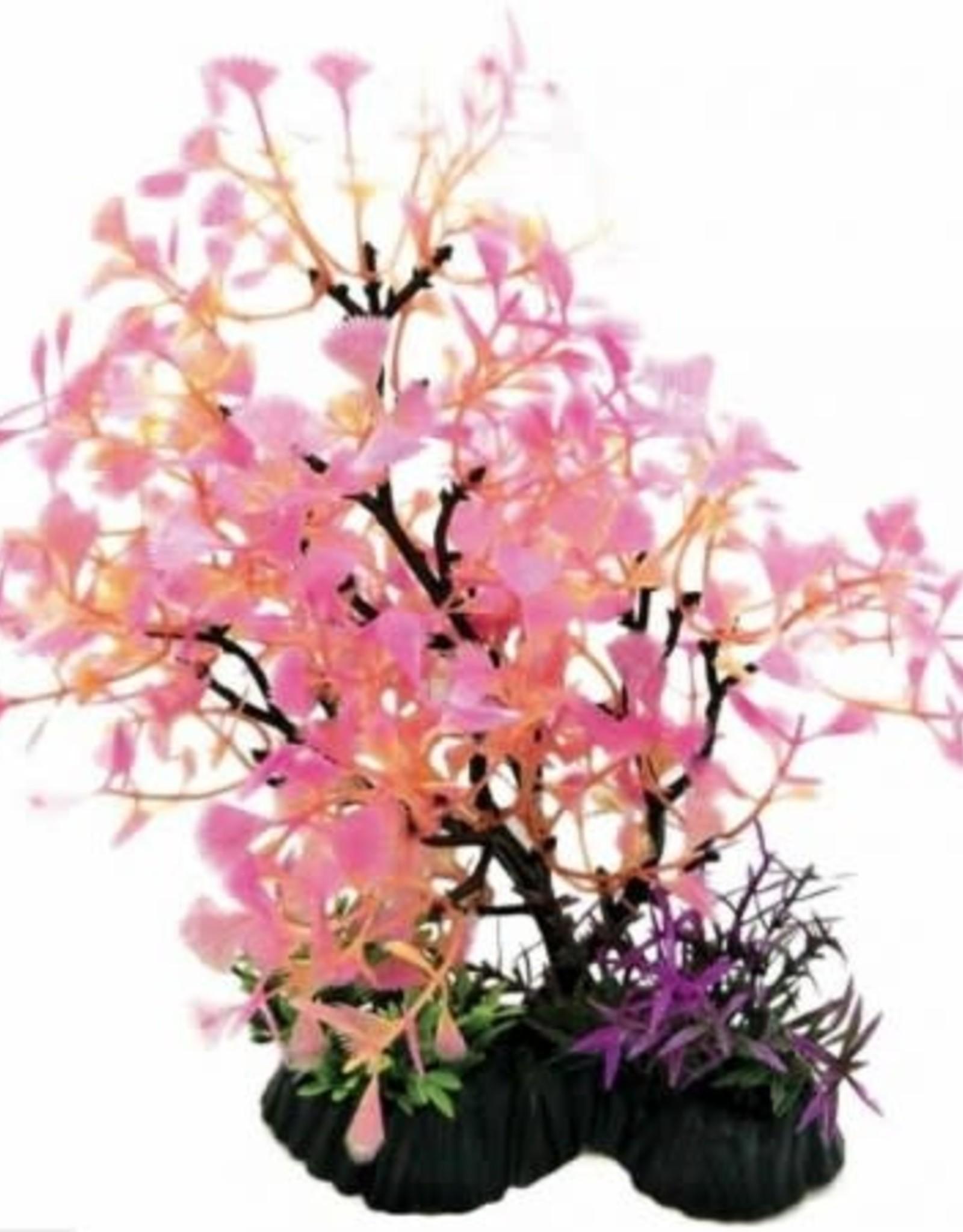PENN-PLAX INC Bonsai Plant Pink 11-12in