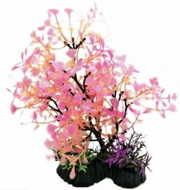 PENN-PLAX INC Bonsai Plant Pink 11-12in
