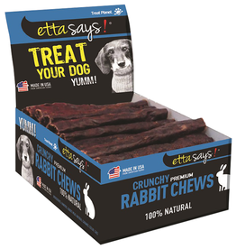"Etta Says! Premium Crunchy Rabbit Chews Bulk 4"""