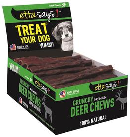 "Etta Says! Premium Crunchy Deer Chews Bulk 4""Each"