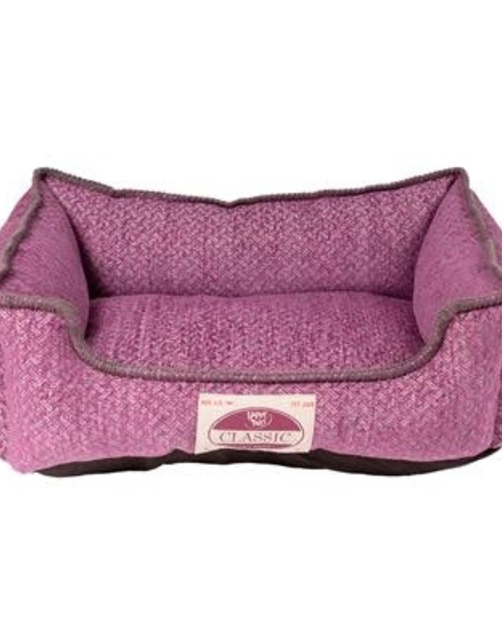 "Chenille Cuddler Purple Grape 24 x 20"""