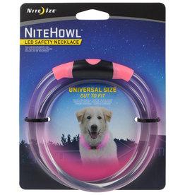 Nite Ize NiteHowl LED Safety Necklace Pink