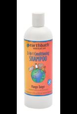 EARTH BATH earthbath 2-in-1 Conditioning Shampoo Mango Tango 16 oz