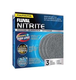 Fluval FL FX4/6 Nitrite Remover Pad, 3pcs