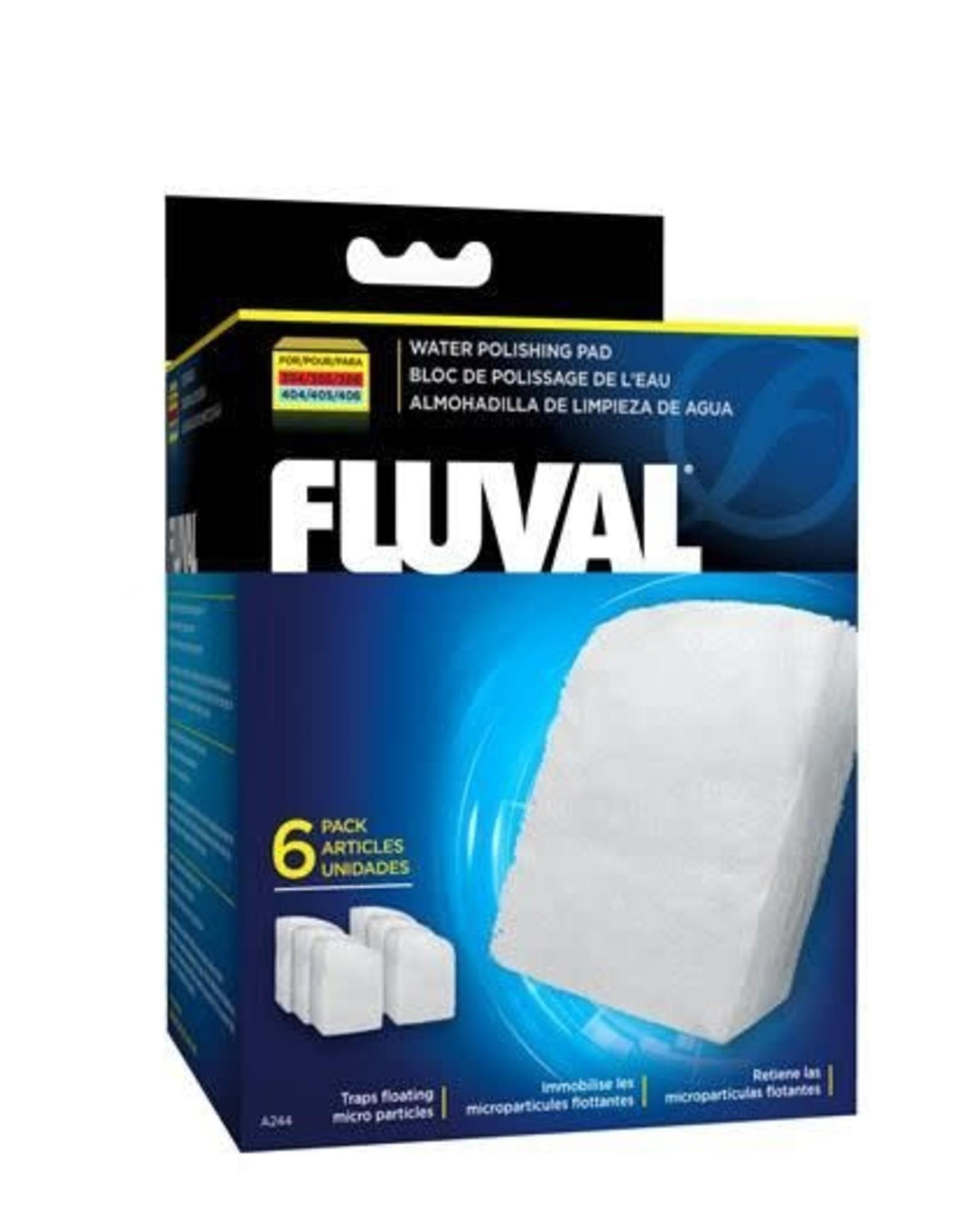 Fluval Fluval Water Polishing Pad, Fits 304/305/404/405 Models (6/Pack)