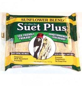 Wildlife Sciences WLS Suet Plus Sunflower Blend 11oz