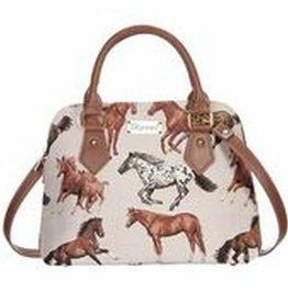 Signare Signare Convertible Bag Running Horses