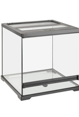 EXO-TERRA Exo Terra Dart Frog Terrarium - Advanced Amphibian Habitat - Small/Wide - 45 L x 45 W x 45 H cm (18 x 18 x 18 in)