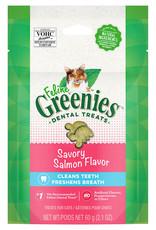 Feline Greenies Feline Greenies Dental Treat Savory Salmon 2.1OZ