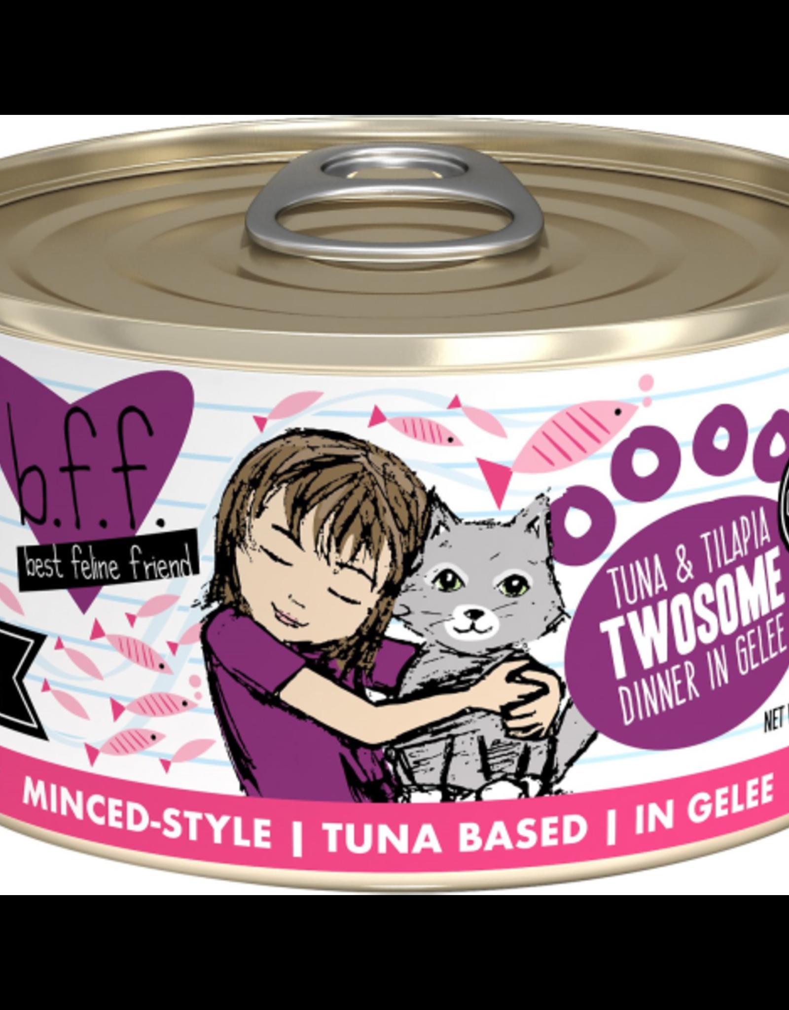 BFF BFF Tuna & Tilapia Twosome 24/3 oz