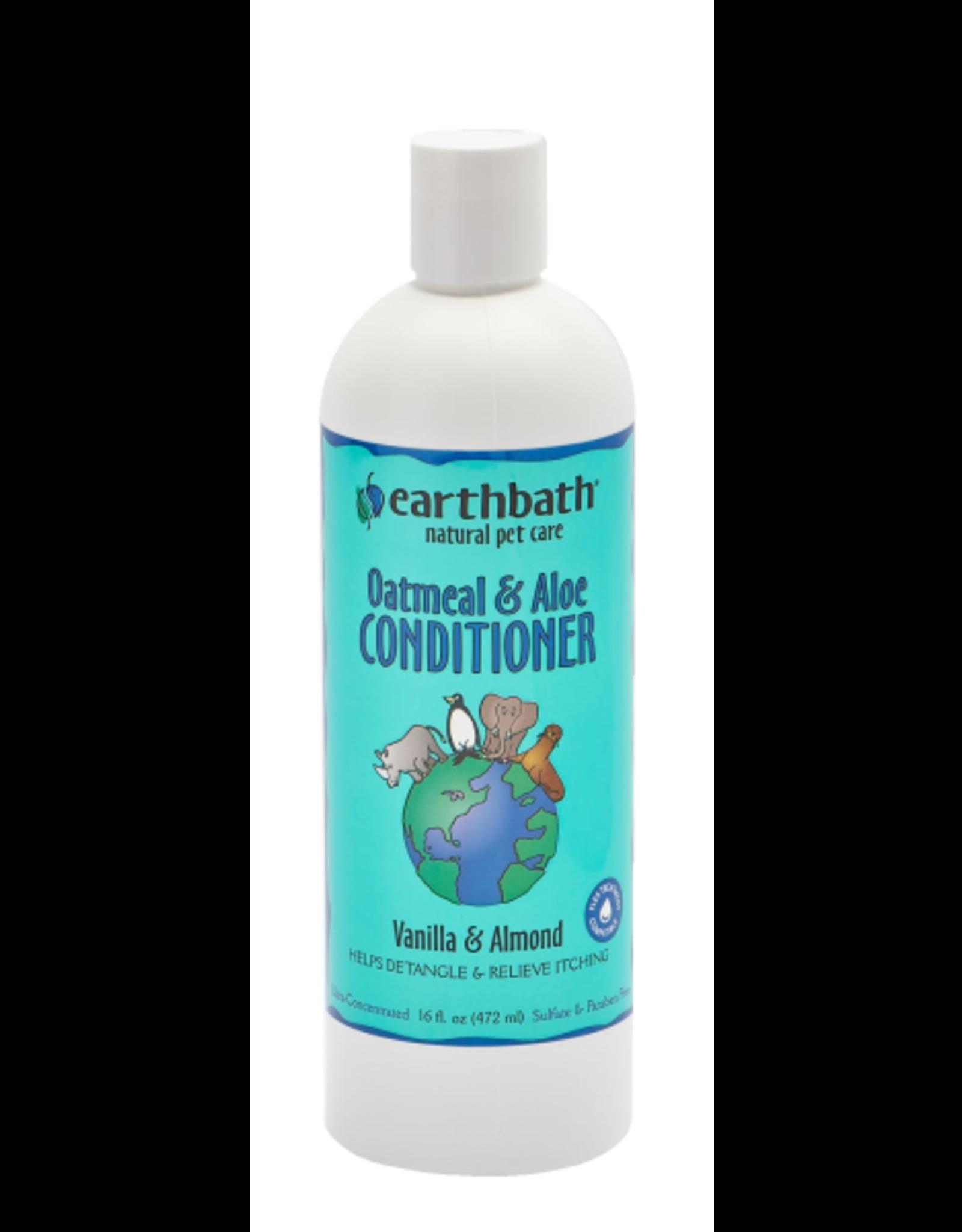 EARTH BATH earthbath Oatmeal&Aloe Conditioner Vanilla & Almond 16 oz