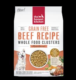 Honest Kitchen HK Dog GF Whole Food Clusters Beef 5 lb