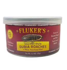 FLUKER'S Gourmet-Style Dubia Roaches - Canned