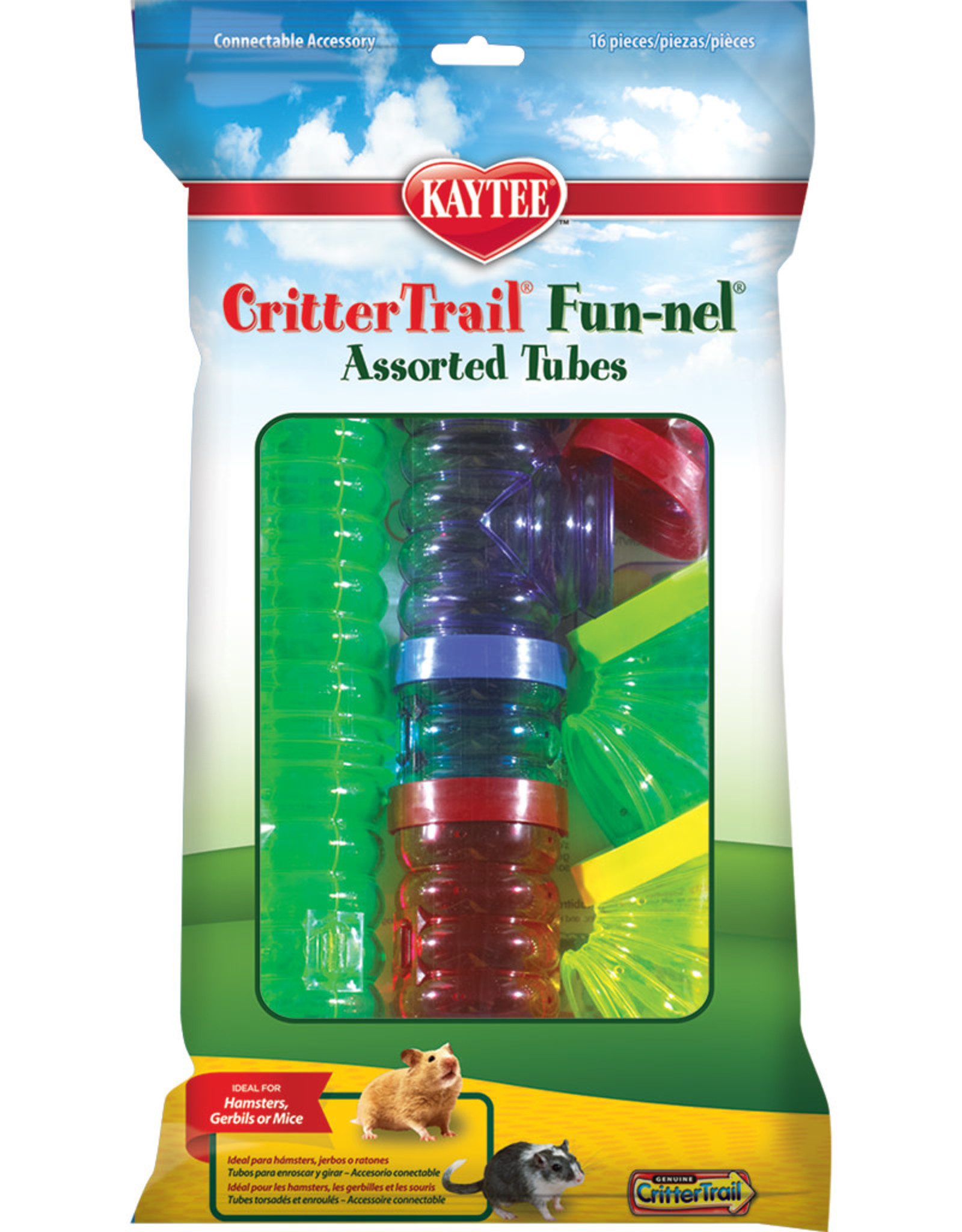 KAYTEE PRODUCTS INC CritterTrail Fun-nels Value Pack Large