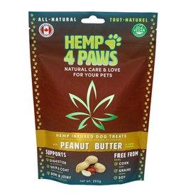 Hemp 4 Paws Hemp Infused Treats Peanut Butter 250GM