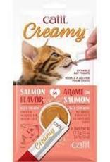 Catit Creamy Lickable Cat Treat - Salmon Flavour - 5 pack