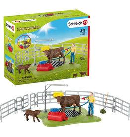SCHLEICH SCHLEICH- Happy Cow Wash