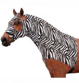 Ger Ryan GER-RYAN Zebra Lyrca Neck Slinky with Zipper Large