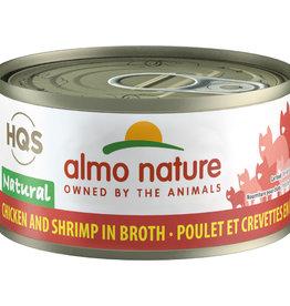 Almo Nature Almo Chicken and Shrimp in Broth 70G