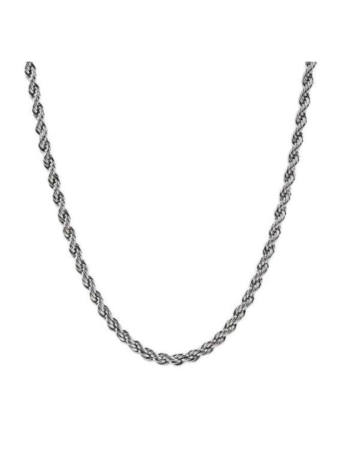 Chaine acier 20'' torsade