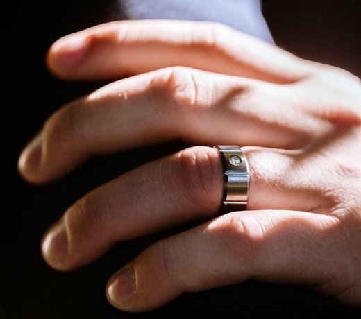Jonc de fiançailles et de mariage