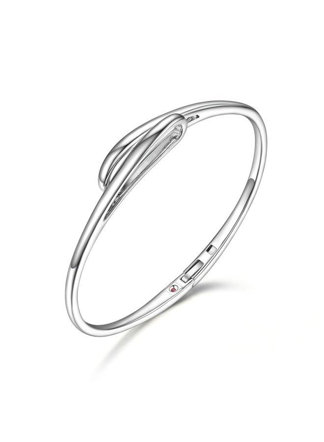 Bracelet rigide .925 6.75''