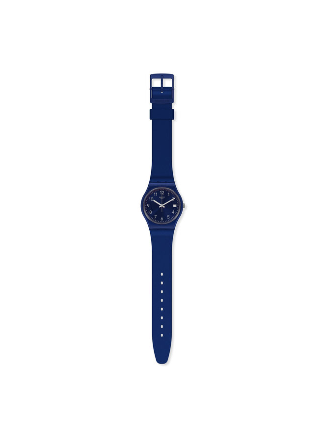 MONTRE SWATCH SILVER IN BLUE