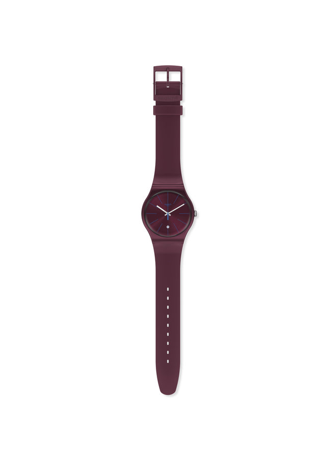 MONTRE SWATCH BURGUNDAZING