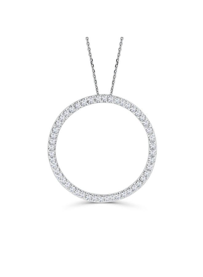 Ensemble or blanc 14k avec diamants