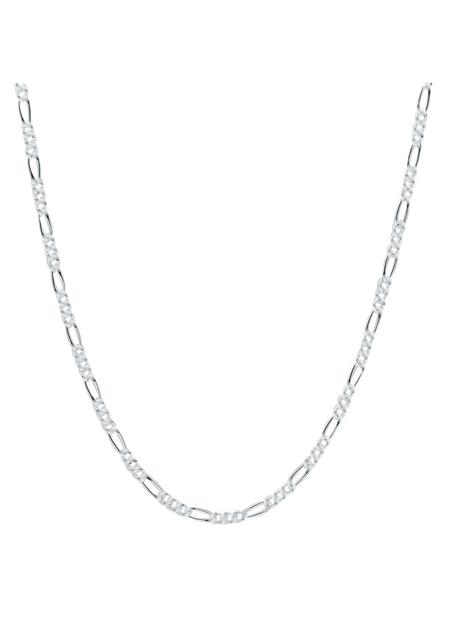 "Chaine .925 16"" Figaro"