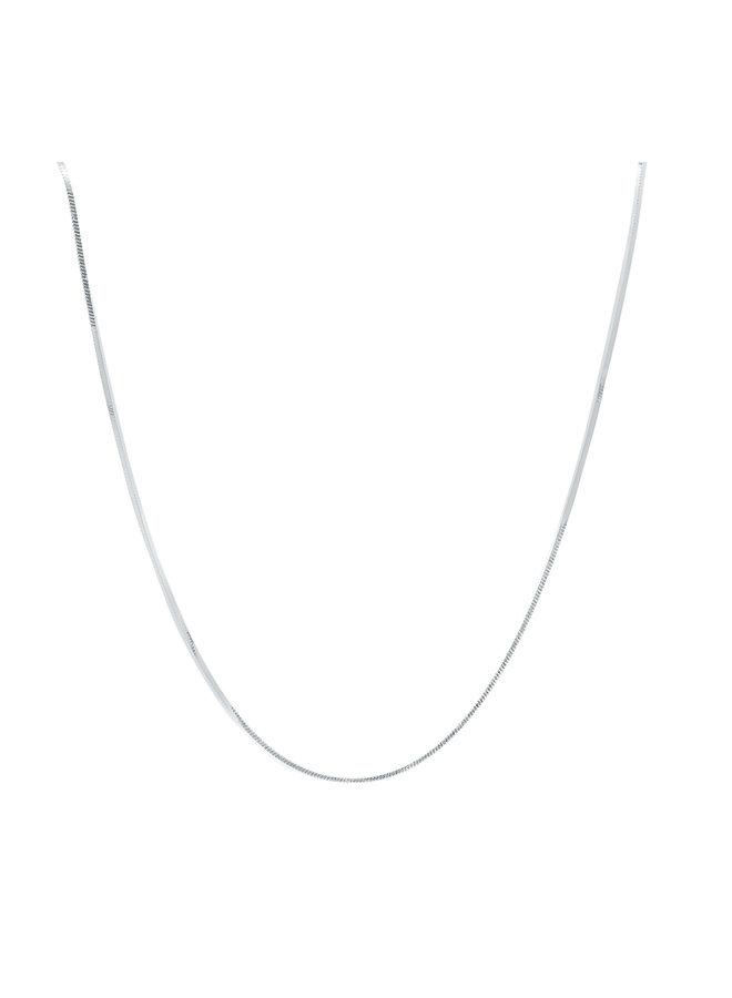 Chaine .925 18'' Foxtail