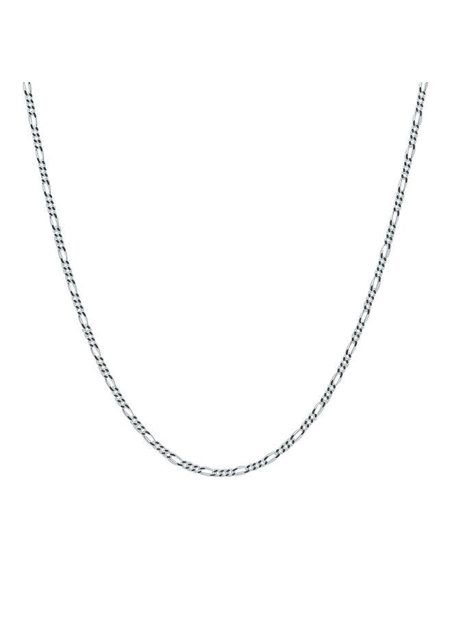 "Chaine argent  .925 14"" figaro"