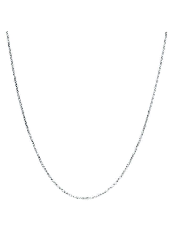 """Chaine .925 18"""" carré"""