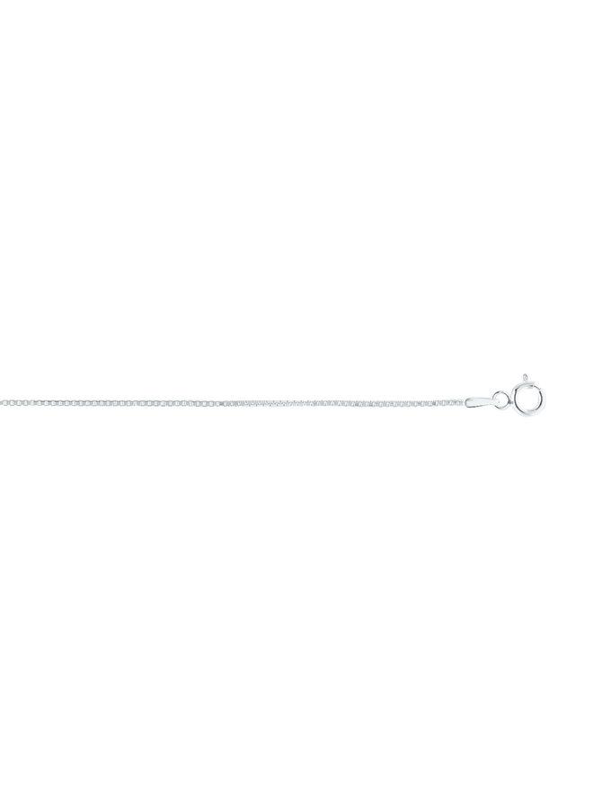 """Chaine .925 14"""" Carrée"""
