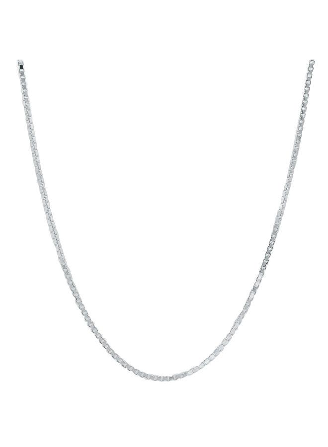 """Chaine .925 20"""" Carrée"""