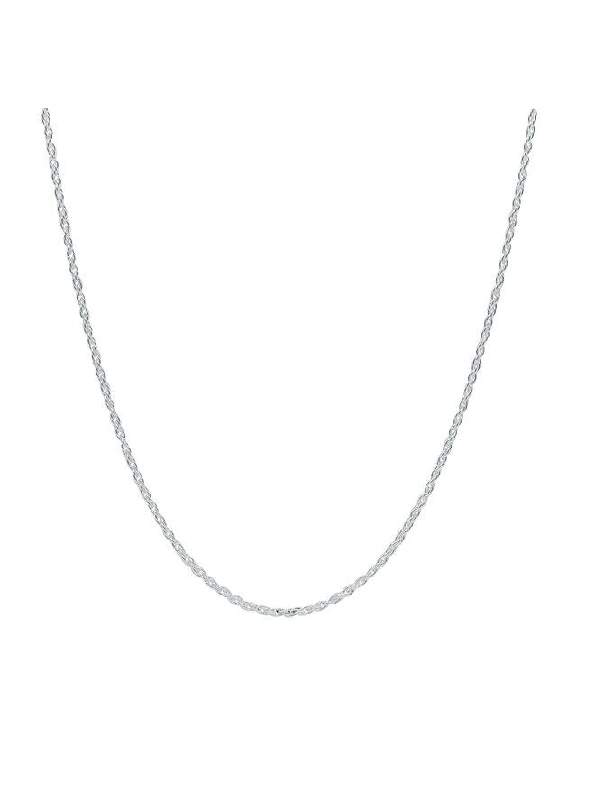 Chaine .925 16'' torsade