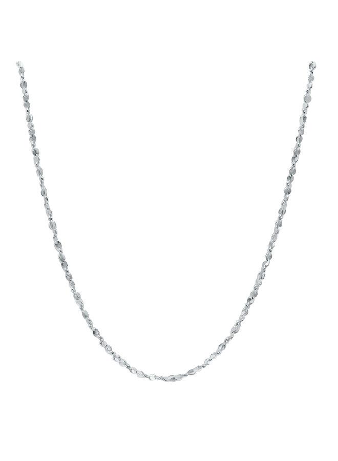 """Chaine .925 20"""" carré twisté"""