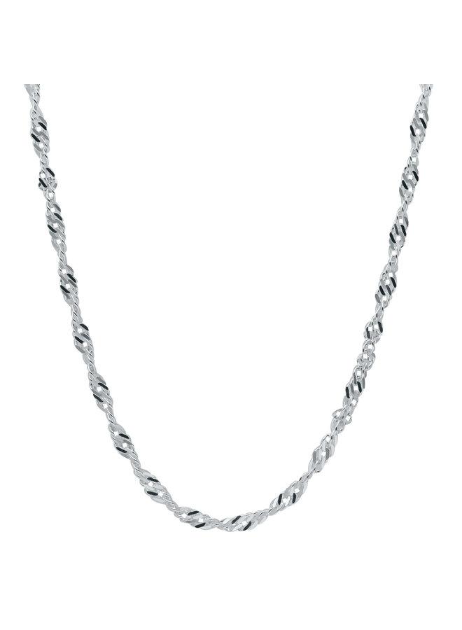 Chaine .925 16'' singapour