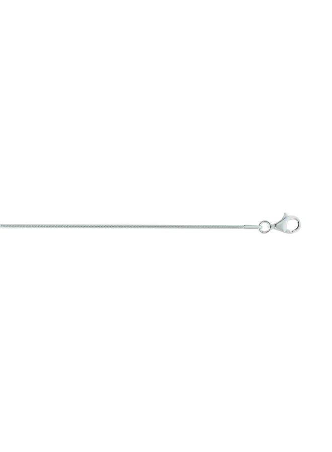 "Chaine .925 20"" Foxtail"