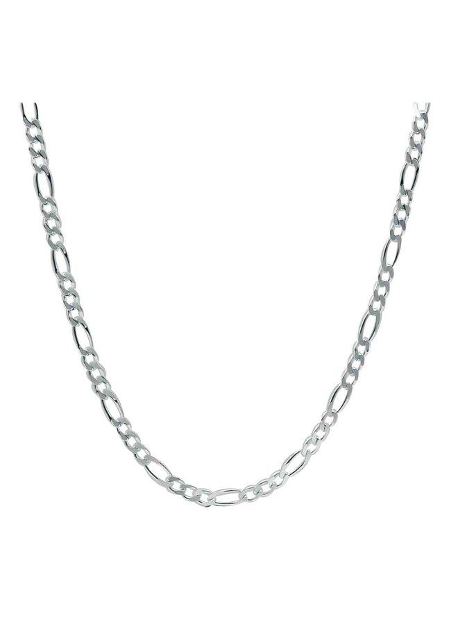 Chaine .925 figaro 24''