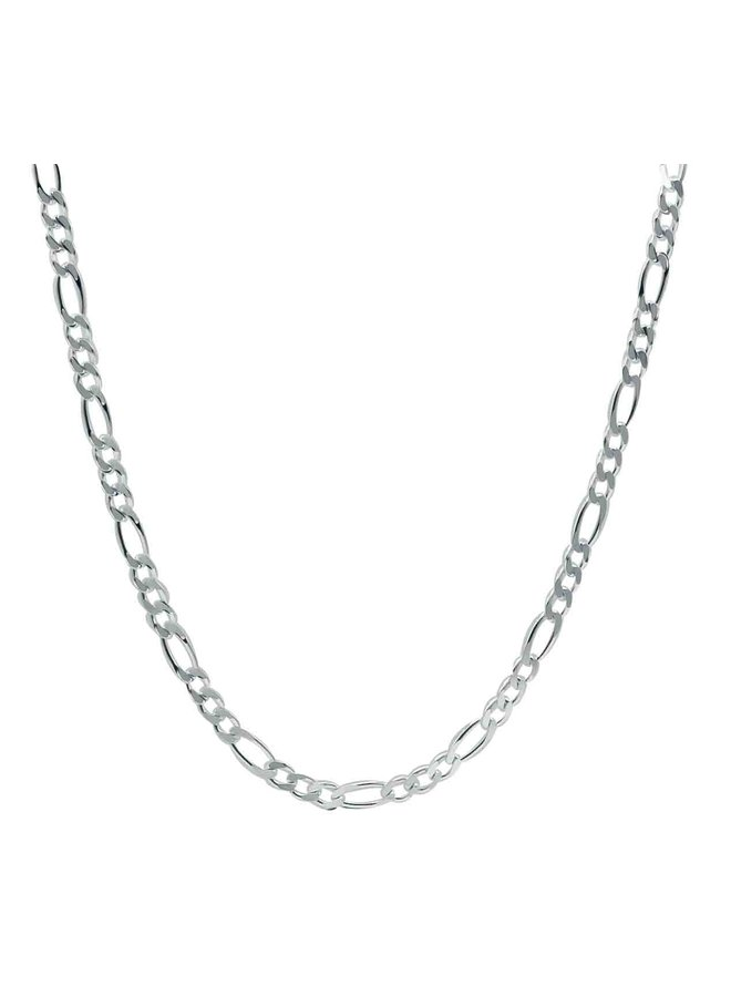 Chaine cheville .925 10''  Figaro