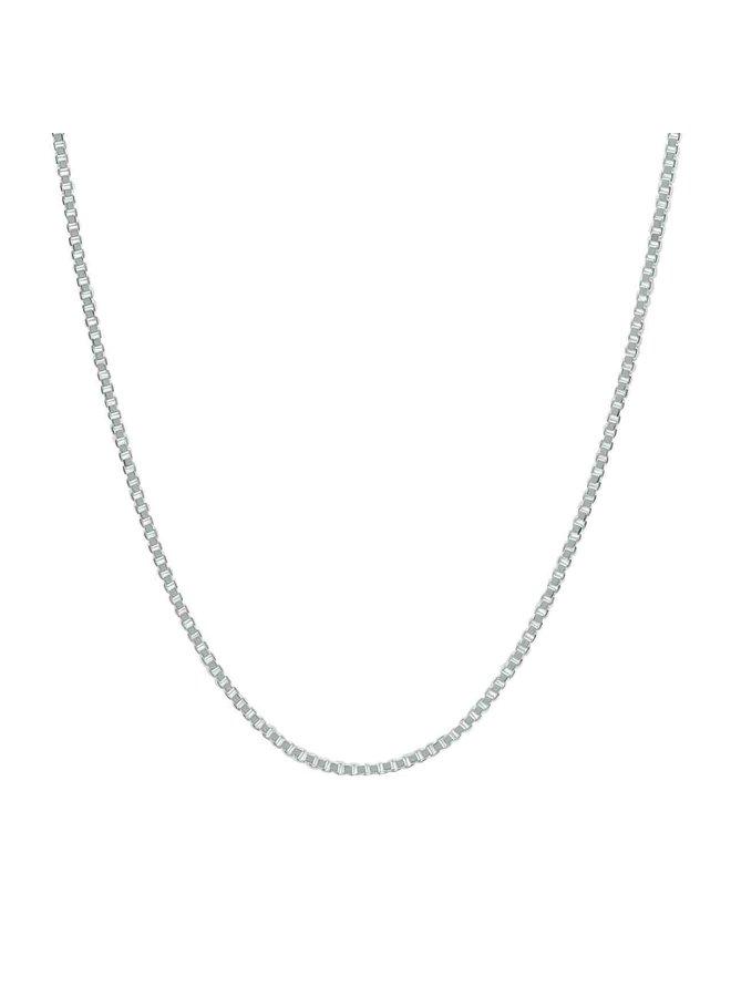 Bracelet .925 7'' carré