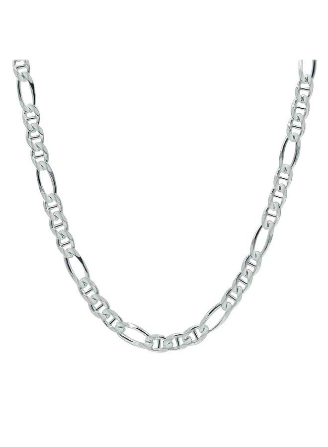 "Bracelet .925 7"" Figaro"